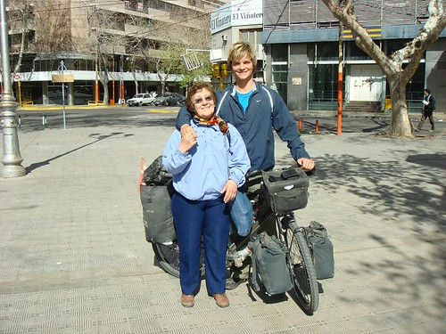 Nicolai with some random, Christian woman in San Juan, Argentina.