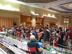 Crowds at BrickFair