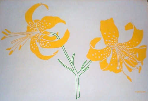 Marushka - two lilies (yellow)