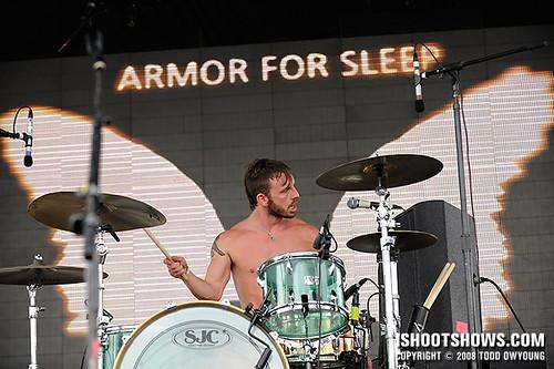 Armor For Sleep @ Projekt Revolution