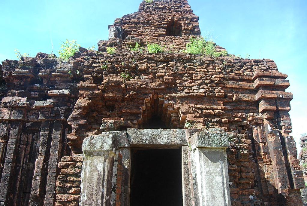 Un templo en las ruinas de My Son