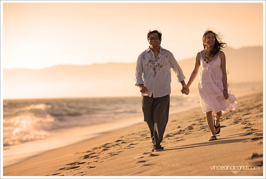 beach 3by2 malibu wedding point dume california engagement e session shoot
