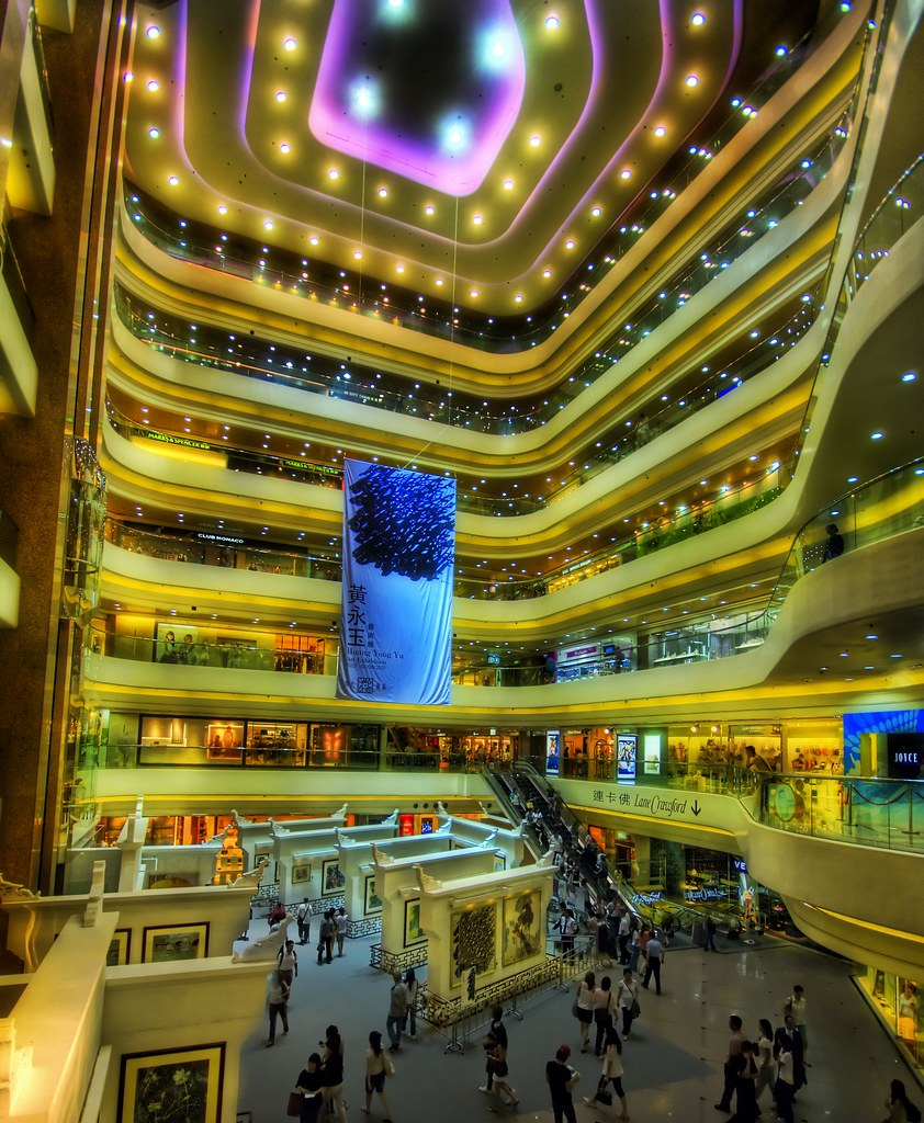 A Tiny Mall in Hong Kong