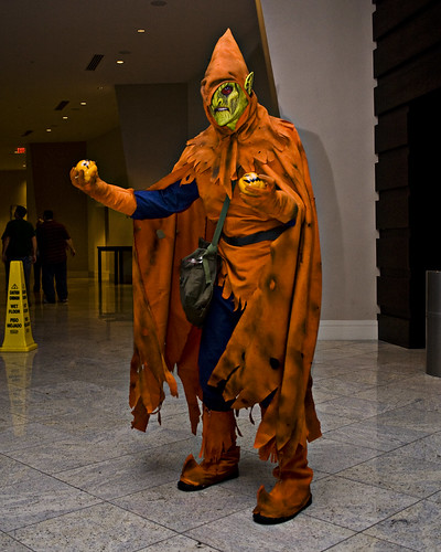 Great green goblin costume & Anecdotal Evidence: Great green goblin costume
