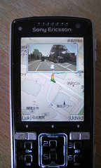 Street view in Google Maps Mobile