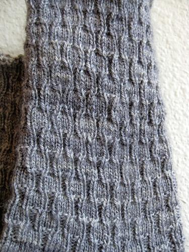 Tesserae Socks- Detail