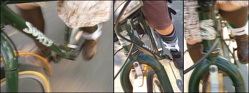 orthopedic annie rides a bike