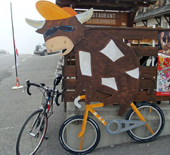 Col de la Colombiere (will_cyclist) Tags: coldelacolombiere cycling alps france cows cowsx signs sign