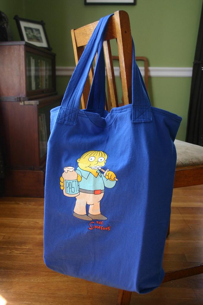 Recycled T-shirt Shopping Bag