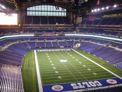 Lucas Oil Stadium Field