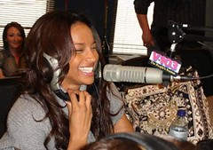 ciara with her mouth by the mic