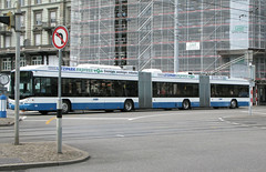 VBZ 69 [Zurich trolleybus] (Howard_Pulling) Tags: bus buses switzerland swiss trolley zurich zuerich trolleybus vbz trolleybuses hpulling howardpulling