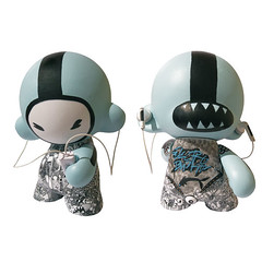 MUNNY by ELECTROBUDISTA (ELECTROBUDISTA) Tags: illustration cool arte drawing contemporaryart contemporary drawings cartography dibujo complex coolness arttoys munny adalberto camperos adalbertocamperos contemporarydrawing electrobudista