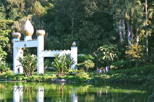 Golden Lotus Archway