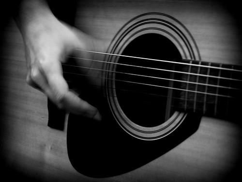 guitar closeup by Jay Morrison