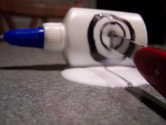 Glue, Bull's Eye, Pocket Knife