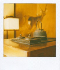WA (He told me) Tags: table polaroid japanese teapot nara fusuma