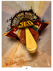 Online Interactive Marketing (Gert van Duinen) Tags: design graphicdesign artistic expression digitalart 2008 magazineillustration searchengineoptimization dutchartist cresk searchengineadvertising editoraldesign gertvanduinen designbycresk creskdesign creskstudios onlineinteractivemarketing goldfantasydesign
