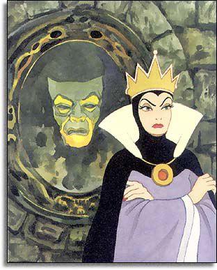 Grimhilde & Her Mirror