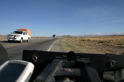 Sort of flat, sort of boring. Bolivian altiplano...