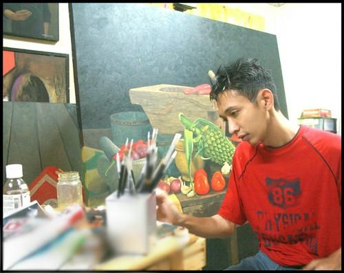 Myself Latif Maulan Painting