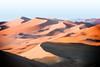 Mar de arena (dani.Co) Tags: africa trip morning vacation sunrise dawn algeria sand nikon shadows desert dune explore d200 shara erg explored ergdadmer admer platinumphoto danico