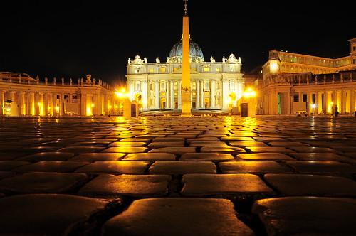 Vatican, angle° 0