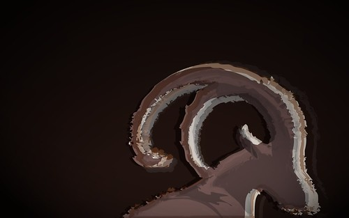 Ubuntu 8.10 Intrepid Ibex Wallpapers - abstractibex_brown