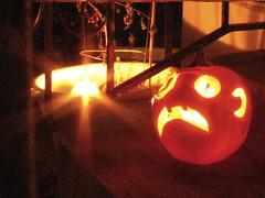 (tbone_sandwich) Tags: orange halloween minnesota pumpkin jackolantern minneapolis twincities 2008 candlelit 13secondexposure img5990
