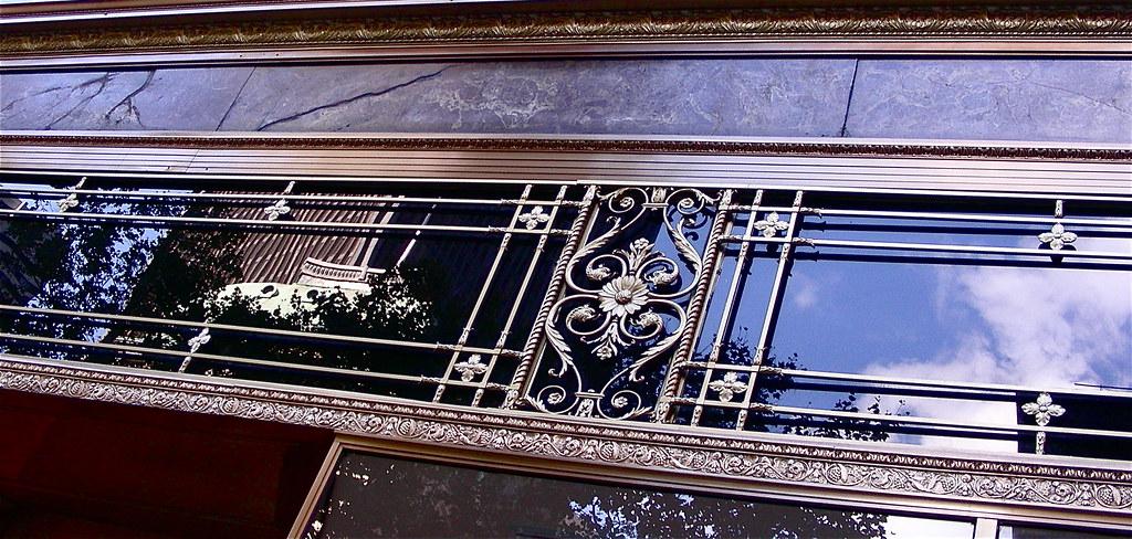 decorative architectural detail, Parker House, Boston