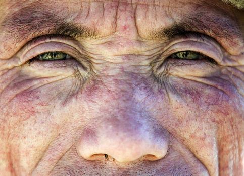 The green eyes of a Zhelaizhai/Liqian resident