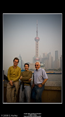 Joseph, Matt, and Ray in Shanghai