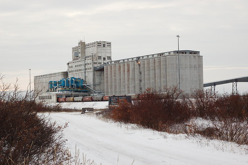 Churchill grain elevator