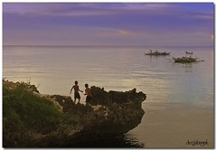 the sea, the sea (docjabagat) Tags: sea beach swim cebu camotes absolutelystunningscapes philippinesceneries philippinephotographicsociety garbongbisaya