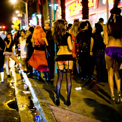 miami beach (miami fever) Tags: halloween public girl costume nightlife miamibeach 2008 lincolnroad greatesthits 5010l