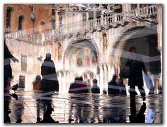 benvenuti a Venezia (pseudonimo51 / roberto russo) Tags: venice italy italia reflexions venezia acquaalta artcafe smarco colourartaward artcafedomidoexhibitionscomein