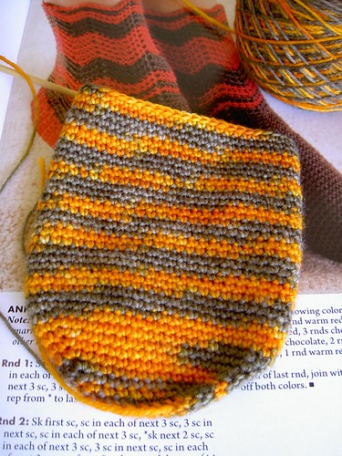 Jaffa socks in progress