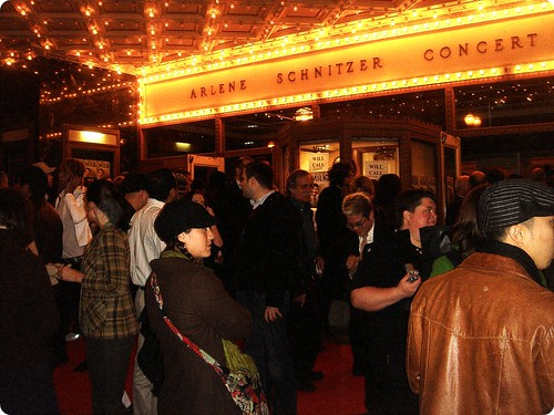 Milk movie Premier, Arlene Schnitzer, Portland, Oregon
