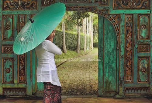 ''Gebyok'' Javanese Classic door design