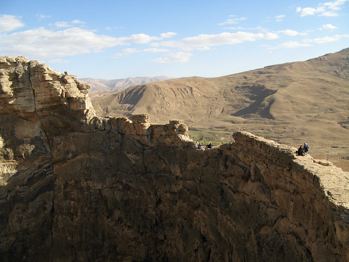 Zendan-e Soleyman - the crater rim