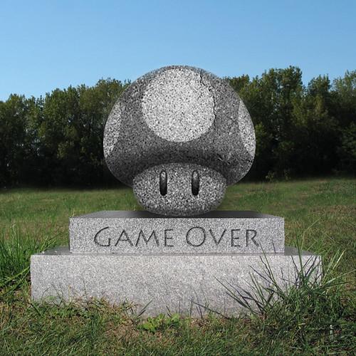 Mushroom Grave by MrBobDobolina.