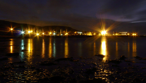 View of Largs marina from the Pencil 21Nov08