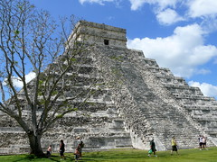 El Castillo Rear View (Butch Osborne) Tags: city travel mexico temple ancient ruins maya culture yucatan mayan mayanruins historical cancun traveling antiquity mustsee mayanculture yuccatan mayancity bucketlist
