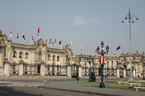 Plaza de Armas, Lima - Peru.