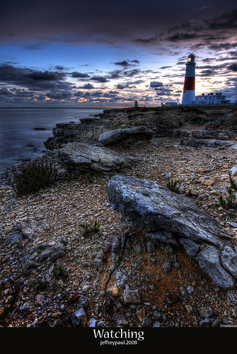 HDR Lighthouse by the sea