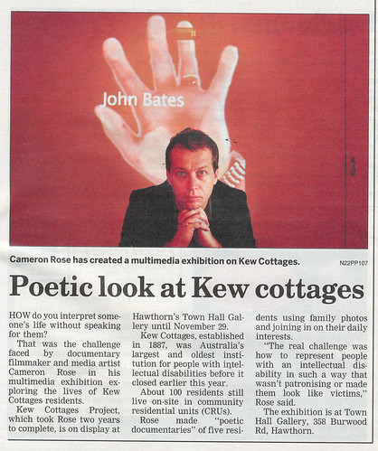 Kew Cottages Article 2008