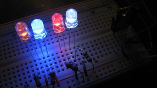 Four LEDs