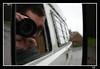 me and my van (Uncle Berty) Tags: door uk england reflection me wet water vw mirror wing van raining berty camper brill bucks smalls t25 hp18 robfurminger