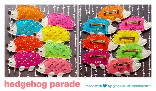 hedgehog parade