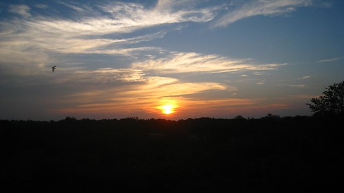 Sunset over Kruger Park